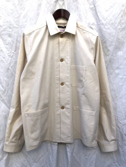 2020 S/S FRANK LEDER 3 POCKET WORK JACKET Natural