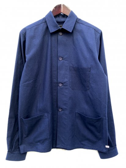 2020 S/S FRANK LEDER 3 POCKET WORK JACKET Navy