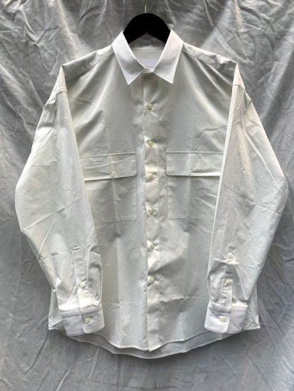 Richfield High Density Flap White Shirts Made In Japan White
