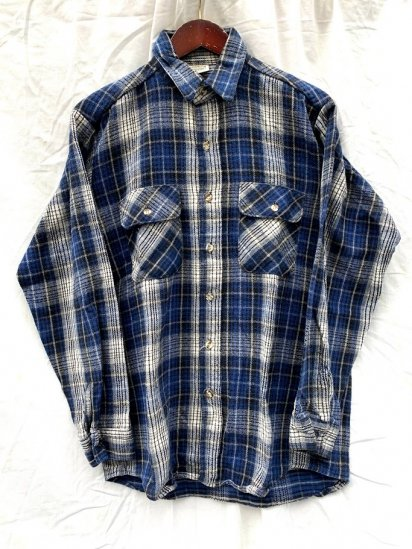 90s Old Five Brother Flannel Shirts Made In USA
