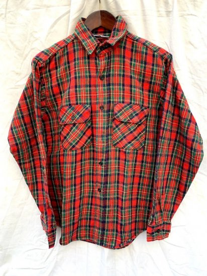 70s∼80s Vintage Five Brother Flannel Shirts Made In USA /