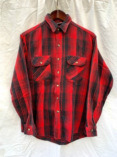90s Vintage Five Brother Flannel Shirts
