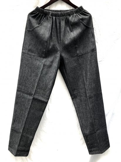 Massaua Made in Italy Easy Pants  SS Black Denim