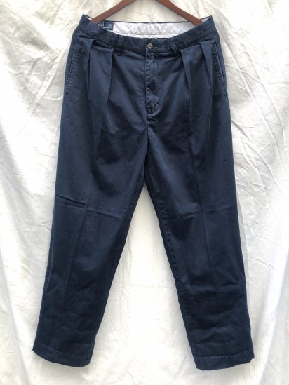 90's ~ 00's OLD Polo Ralph Lauren Chino Pants Navy / 2