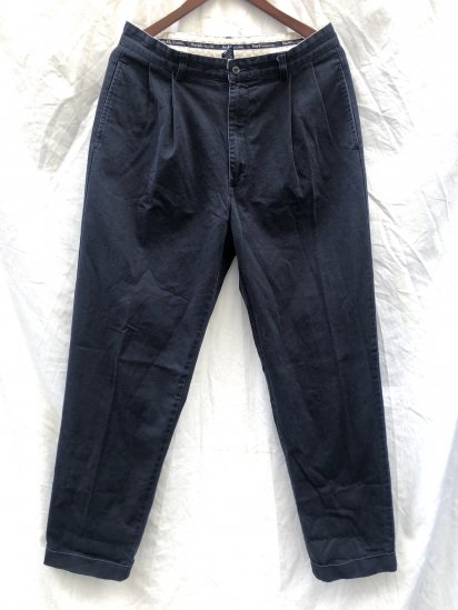 90's ~ 00's OLD Polo Ralph Lauren Chino Pants Navy / 4