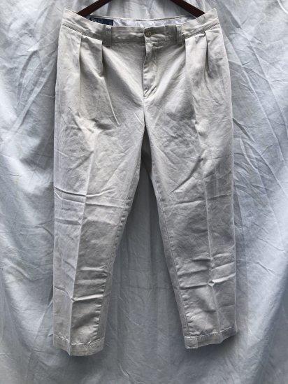90's ~ 00's OLD Polo Ralph Lauren Chino Pants Ecru / 9