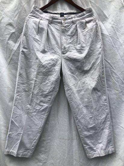 90's ~ 00's OLD Polo Ralph Lauren Chino Pants Ecru / 11