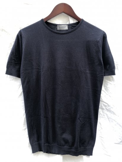 "John Smedley Seaisland Cotton Knit ""Belden T Shirts"