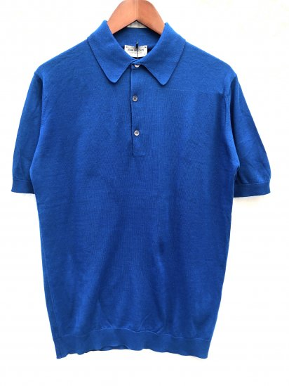 John Smedley Sea Island Cotton Short Sleeve Polo Shirts