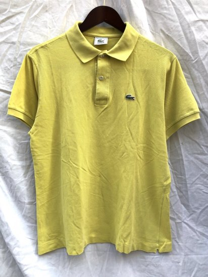90's ~ Vintage Lacoste Polo Shirts Made in France / 42