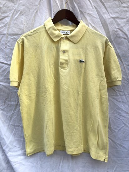 80's ~ 90's Vintage Lacoste Polo Shirts Made in France / 43