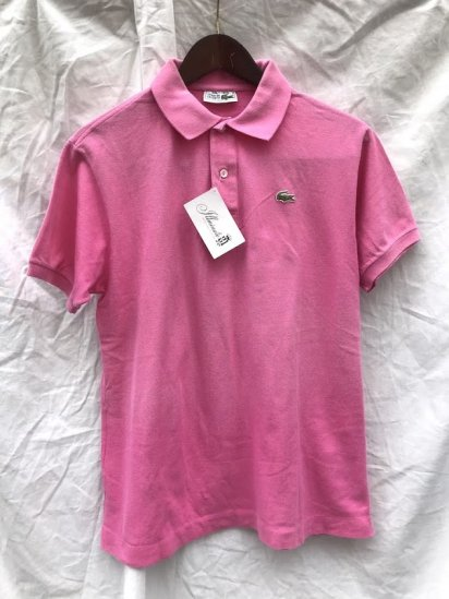 70s Vintage Lacoste Polo Shirts Made in France / 50