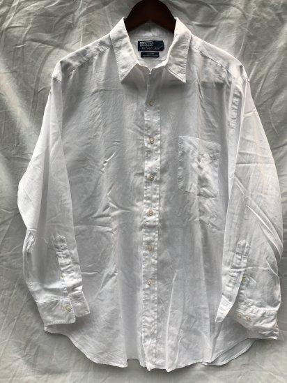 90-00's USED Ralph Lauren L/S HBT Shirts / 3