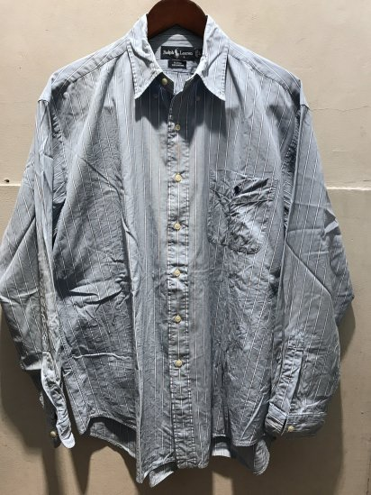 90-00's USED Ralph Lauren OX BD Shirts / 11