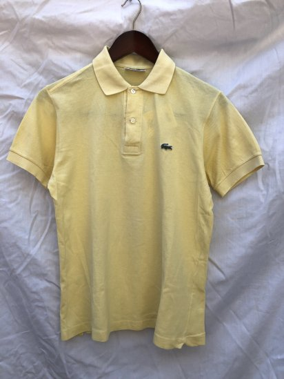 70's Vintage Lacoste Polo Shirts Made in France / 53