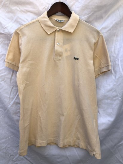 80's Vintage Lacoste Polo Shirts Made in France / 54