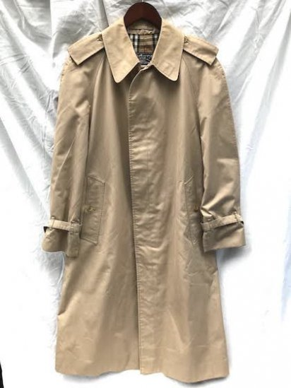 Vintage Burberrys' Single Trench Coat Made in ENGLAND