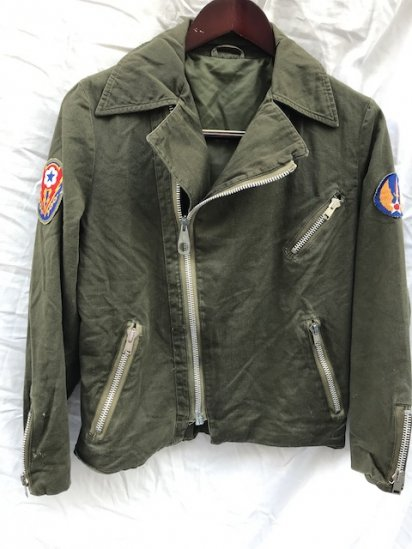 70-80's Vintage UK or Canadian Cotton Riders Jacket