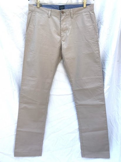 J.Crew 484 Fit (THE DRIGGS) Light Weight Chino Pants<BR>SALE !! 7,800 + Tax → 5,000 + Tax
