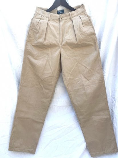 90's 〜 Old Ralph Lauren Chino Pants MADE IN U.S.A Good Condition