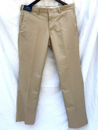 00s∼ Ralph Lauren Polyester Stretch Trousers<BR>SALE!! ¥7,800+Tax⇒¥3,800+Tax