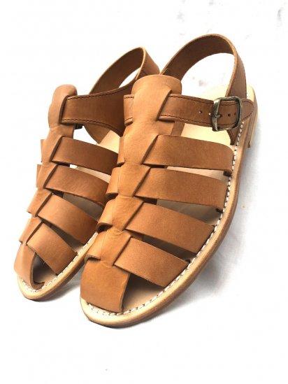 De Bonne Facture × La Botte Gardiane Oiled Calf Skin Sandal