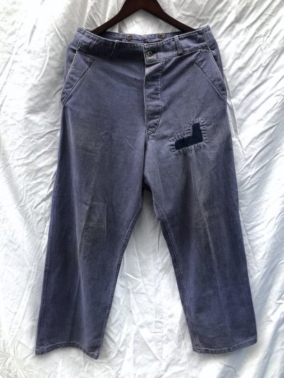 50's Vintage British Work Trousers