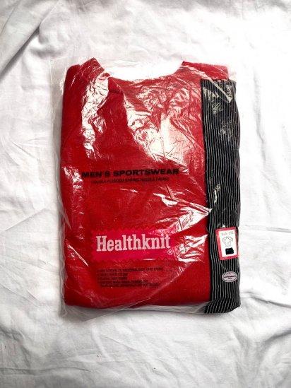 70-80's Dead Stock Healthknit Sweat Shirts Made in U.S.A / 1