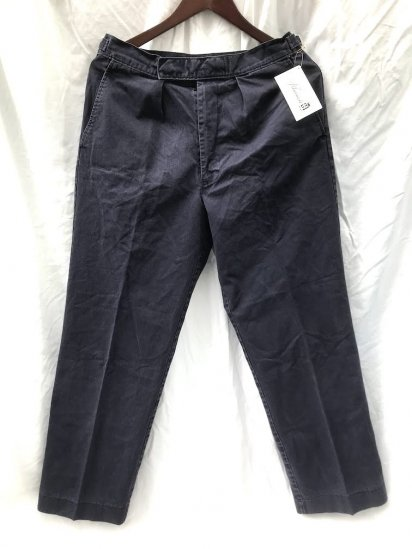 Vintage Royal Navy P/C Working Dress Trousers Faded Navy / 1