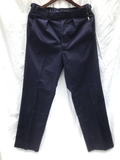 Vintage Royal Navy P/C Working Dress Trousers Faded Navy / 3
