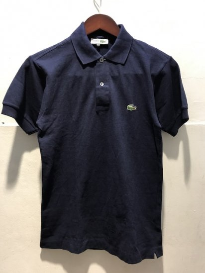 70's Vintage Dead Stock Made in France Lacoste Polo Shirts / 64