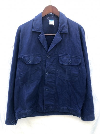 70's ~ 80's Vintage Euro Work Jacket Good Condition