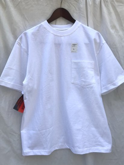 "Camber Made in USA  ""Max Weight"" Pocket Tee White"