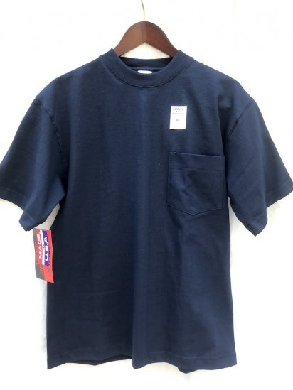 "Camber Made in USA  ""Max Weight"" Pocket Tee Navy"