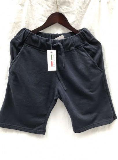 VESTI Sweat Shorts Made in Italy Navy