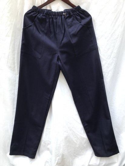 Massaua Made in Italy Easy Pants Navy