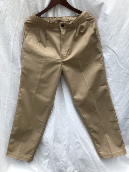 Uniform World Pleasted Front 2 tuck Work Pants Made in ENGLAND Khaki