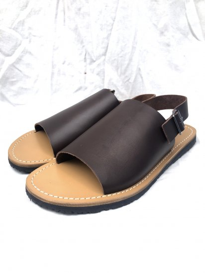 BRADOR One Strap Leather Sandal