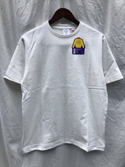 Pannill Short Sleeve Tee Made in U.S.A White