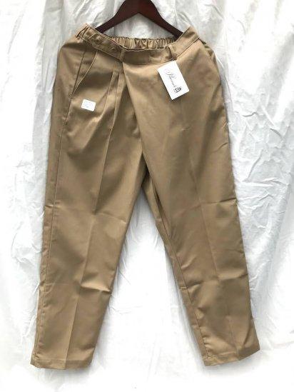 Uniform World  Asymmetry Wrap Pants Made in ENGLAND