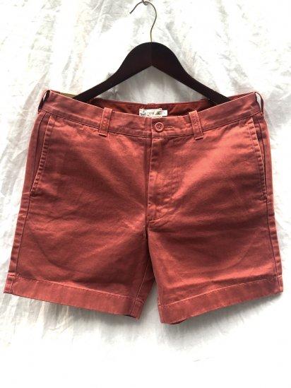 J.Crew 7inc Chino Shorts Red