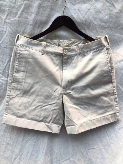 J.Crew 7inch Chino Shorts Cream
