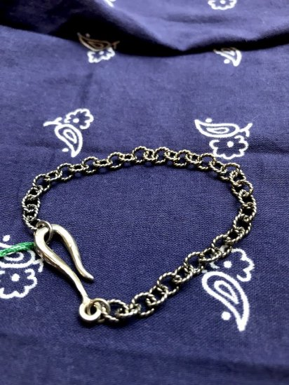 LHN Jewelry Hook & Rope Chain Bracelet Hand Made in BROOKLYN N.Y