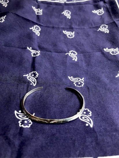 Navajo Tribe Sterling Silver Bracelet/J
