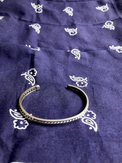 Navajo Tribe Sterling Silver Bracelet/K