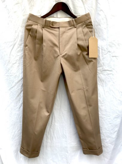 RICHFIELD T-3 Cotton Chino Trousers MADE IN JAPAN
