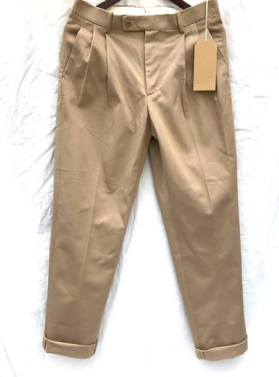 RICHFIELD T-2.5 Cotton Chino Trousers MADE IN JAPAN