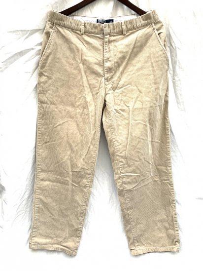 90-00's Old Ralph Lauren Corduroy Pants Beige