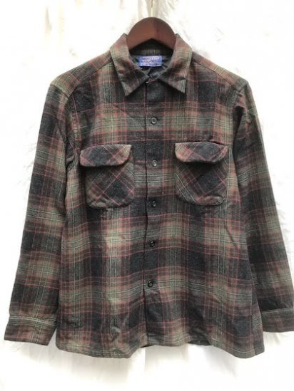 50's〜 Vintage Pendleton Board Shirts MADE IN U.S.A Mint Condition