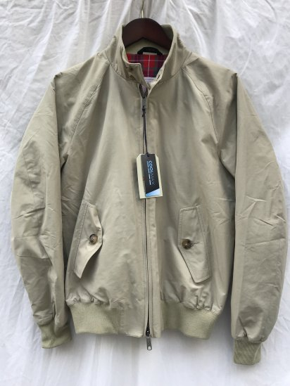 <img class='new_mark_img1' src='https://img.shop-pro.jp/img/new/icons50.gif' style='border:none;display:inline;margin:0px;padding:0px;width:auto;' />Baracuta G-9 Harrington Jacket